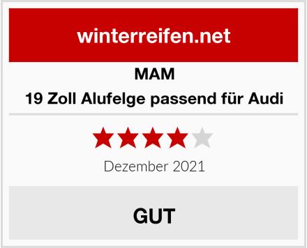 MAM 19 Zoll Alufelge passend für Audi Test
