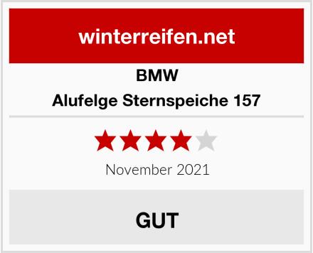 BMW Alufelge Sternspeiche 157 Test