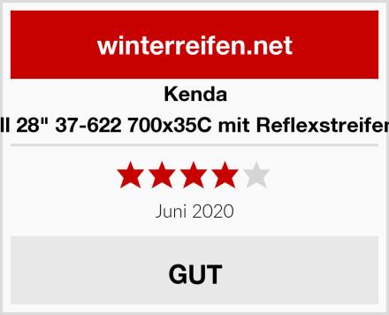"""Kenda 28 Zoll 28"""" 37-622 700x35C mit Reflexstreifen OPS Test"""