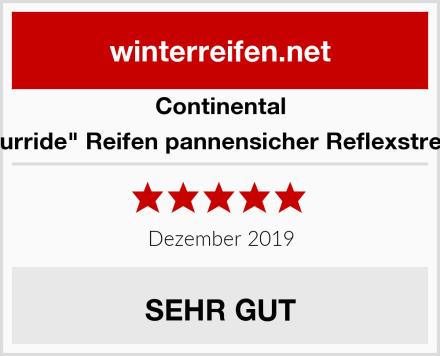 """Continental """"Tourride"""" Reifen pannensicher Reflexstreifen Test"""