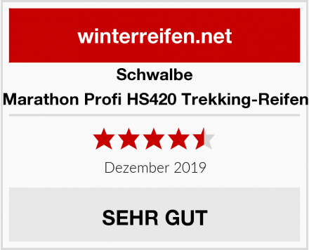 Schwalbe Marathon Profi HS420 Trekking-Reifen Test
