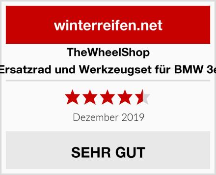 TheWheelShop Ersatzrad und Werkzeugset für BMW 3e Test