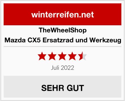 TheWheelShop Mazda CX5 Ersatzrad und Werkzeug Test