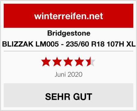 Bridgestone BLIZZAK LM005 - 235/60 R18 107H XL Test