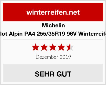 Michelin Pilot Alpin PA4 255/35R19 96V Winterreifen Test