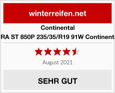 Continental SEAT LEON CUPRA ST 850P 235/35/R19 91W Continental WinterContact Test