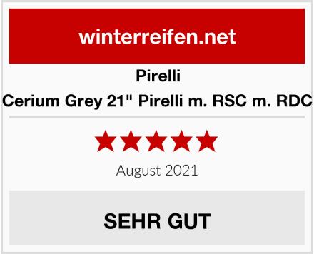 "Pirelli Cerium Grey 21"" Pirelli m. RSC m. RDC Test"