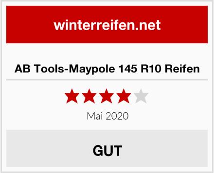 AB Tools-Maypole 145 R10 Reifen Test