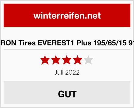 SYRON Tires EVEREST1 Plus 195/65/15 91 H Test