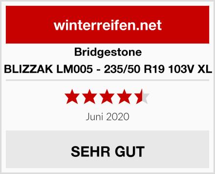 Bridgestone BLIZZAK LM005 - 235/50 R19 103V XL Test