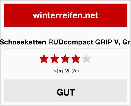 RUD Schneeketten RUDcompact GRIP V, Gr. 0142 Test