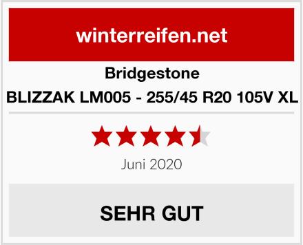 Bridgestone BLIZZAK LM005 - 255/45 R20 105V XL Test