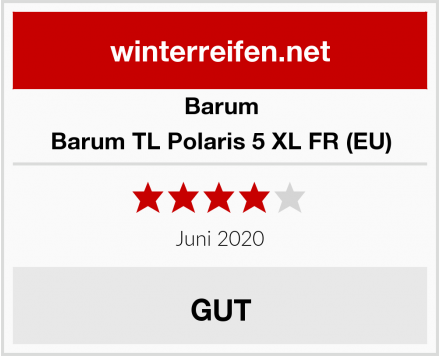 Barum Barum TL Polaris 5 XL FR (EU) Test