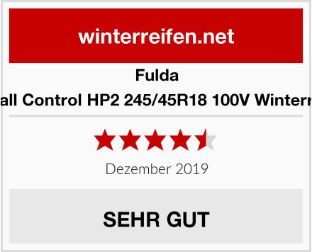 Fulda Kristall Control HP2 245/45R18 100V Winterreifen Test