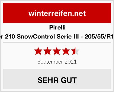 Pirelli Winter 210 SnowControl Serie III - 205/55/R16 91H Test