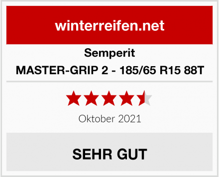Semperit MASTER-GRIP 2 - 185/65 R15 88T Test