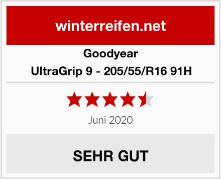 Goodyear UltraGrip 9 - 205/55/R16 91H Test