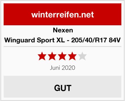 Nexen Winguard Sport XL - 205/40/R17 84V Test