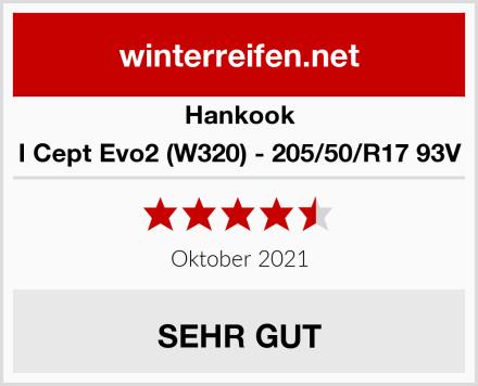 Hankook I Cept Evo2 (W320) - 205/50/R17 93V Test