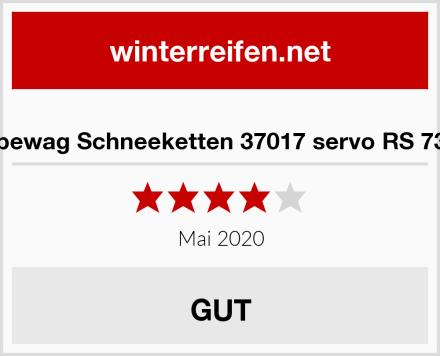 pewag Schneeketten 37017 servo RS 73 Test