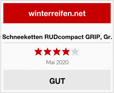 RUD Schneeketten RUDcompact GRIP, Gr. 4050 Test