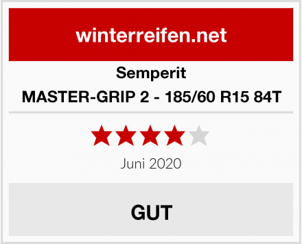 Semperit MASTER-GRIP 2 - 185/60 R15 84T Test