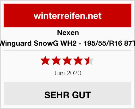 Nexen Winguard SnowG WH2 - 195/55/R16 87T Test