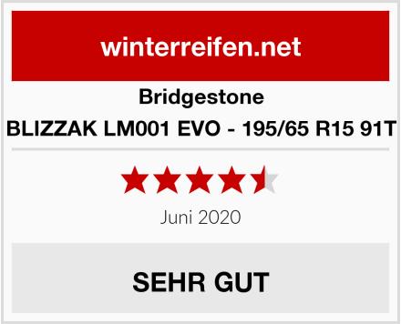 Bridgestone BLIZZAK LM001 EVO - 195/65 R15 91T Test