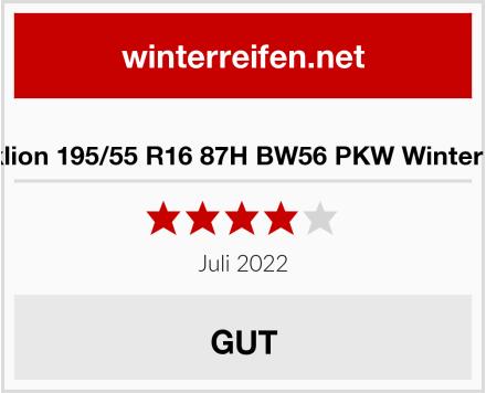 Blacklion 195/55 R16 87H BW56 PKW Winterreifen Test