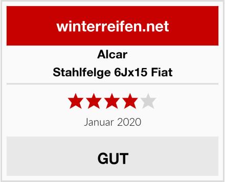Alcar Stahlfelge 6Jx15 Fiat Test