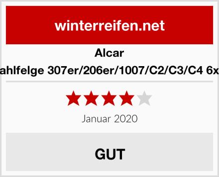 Alcar Stahlfelge 307er/206er/1007/C2/C3/C4 6x15 Test