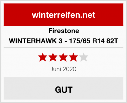 Firestone WINTERHAWK 3 - 175/65 R14 82T Test