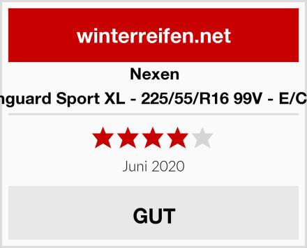 Nexen Winguard Sport XL - 225/55/R16 99V - E/C/73 Test