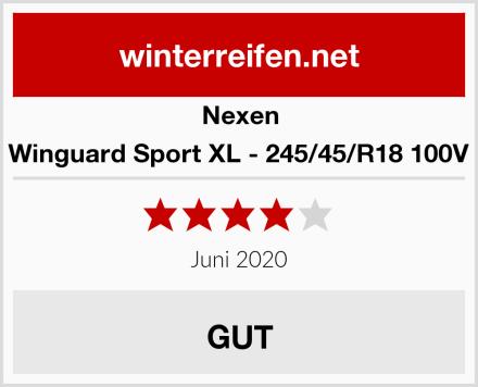 Nexen Winguard Sport XL - 245/45/R18 100V Test