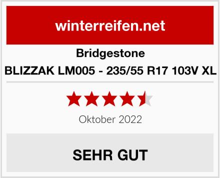 Bridgestone BLIZZAK LM005 - 235/55 R17 103V XL Test