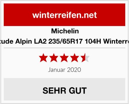 Michelin Latitude Alpin LA2 235/65R17 104H Winterreifen Test