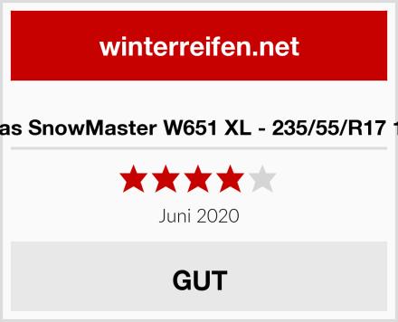 Petlas SnowMaster W651 XL - 235/55/R17 103V Test
