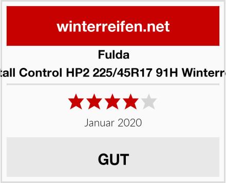 Fulda Kristall Control HP2 225/45R17 91H Winterreifen Test