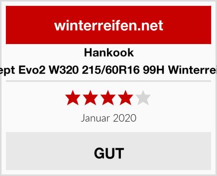 Hankook I Cept Evo2 W320 215/60R16 99H Winterreifen Test