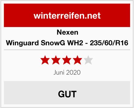 Nexen Winguard SnowG WH2 - 235/60/R16 Test