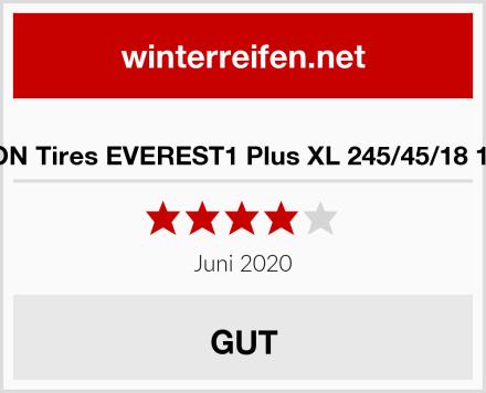 SYRON Tires EVEREST1 Plus XL 245/45/18 100 W Test