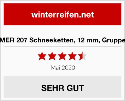 KREMER 207 Schneeketten, 12 mm, Gruppe 23.5 Test