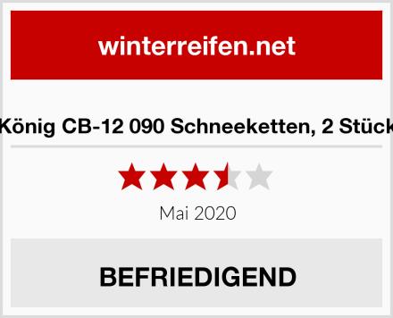 König CB-12 090 Schneeketten, 2 Stück Test