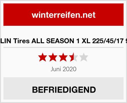 BERLIN Tires ALL SEASON 1 XL 225/45/17 94 W Test