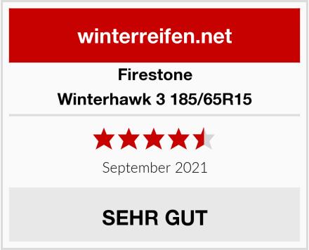 Firestone Winterhawk 3 - 185/65R15 - Winterreifen Test
