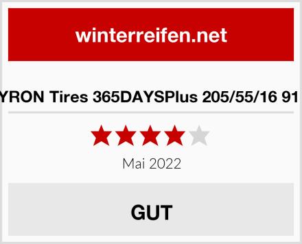 SYRON Tires 365DAYSPlus 205/55/16 91 H Test