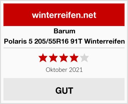 Barum Polaris 5 205/55R16 91T Winterreifen Test