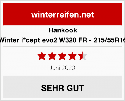 Hankook Winter i*cept evo2 W320 FR - 215/55R16 Test