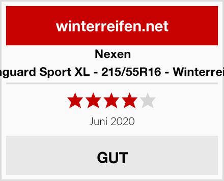 Nexen Winguard Sport XL - 215/55R16 - Winterreifen Test