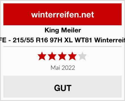 King Meiler LIFE - 215/55 R16 97H XL WT81 Winterreifen Test